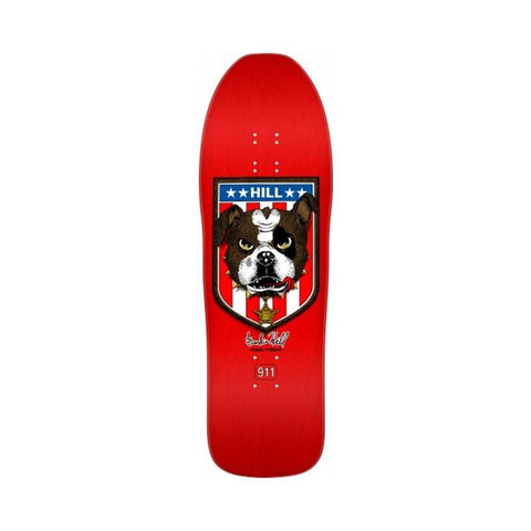 "Powell Peralta Skateboard Deck Bulldog Red 10.0"" x 31.5""-50-50 Skate Shop"