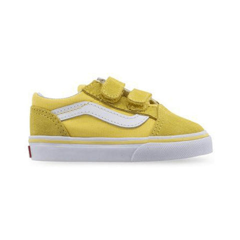 Vans Toddler Old Skool V Aspen Gold True White - 50-50 Skate Shop