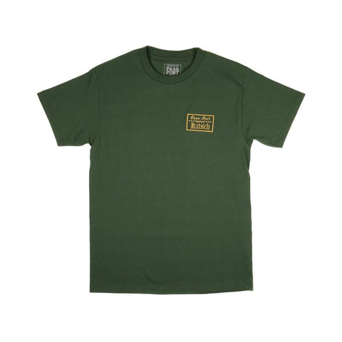 Passport Tee Treasury Of Kitsch Patch Forest Green - 50-50 Skate Shop