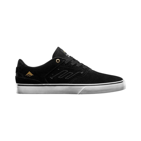Emerica Mens The Reynolds Low Vulc Black White