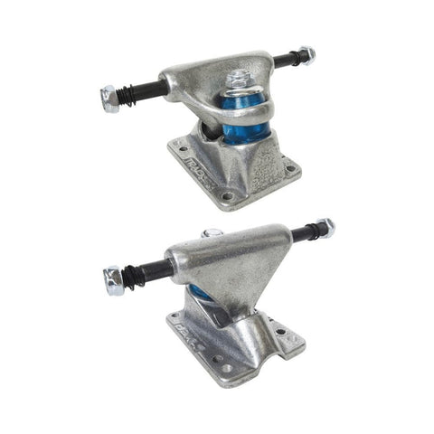 Tracker Skateboard Trucks Halftrack Dart 66mm (5.5 Inch) Silver (1 Pair)-50-50 Skate Shop
