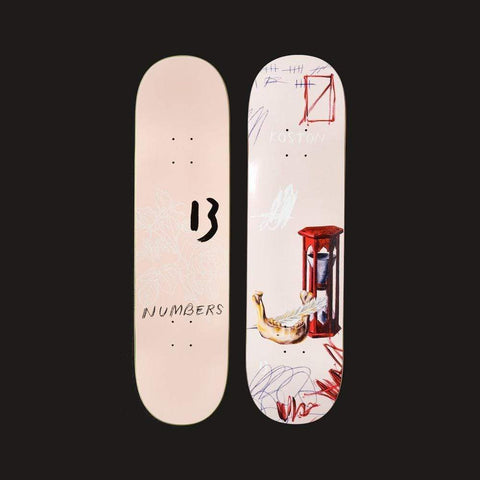 "Numbers Edition Skateboard Deck Koston Edition 5 - 8.5"" x 32"" - 50-50 Skate Shop"
