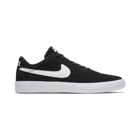 Nike SB Women's Bruin Low Black White White-50-50 Skate Shop