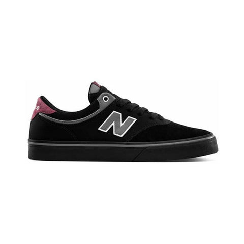 New Balance Numeric 255 Black Burgundy-50-50 Skate Shop