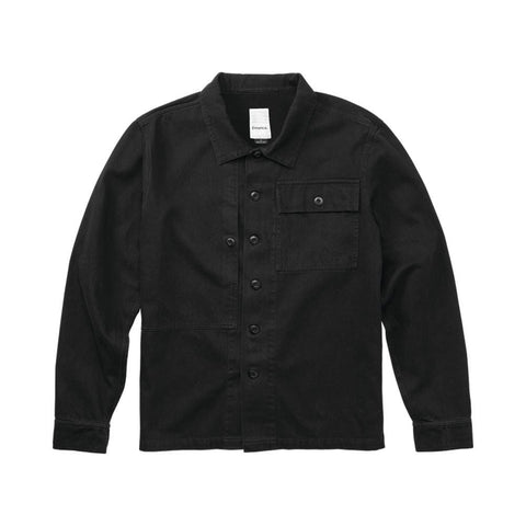Emerica Squadron Over Shirt Black - 50-50 Skate Shop