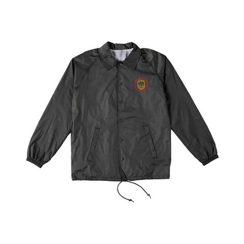 Spitfire Jacket Youth Classic Swirl Fade Red Gold Black-50-50 Skate Shop