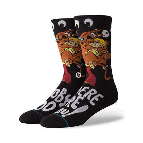 Stance Mens Where Are You Socks Black-50-50 Skate Shop