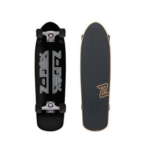 "Z Flex Skateboard Cruiser Complete Cruiser Z Bar 30"" Black-50-50 Skate Shop"