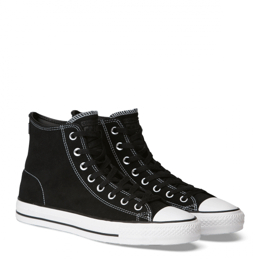Converse Chuck Taylor All Star Pro Suede High Top Black White