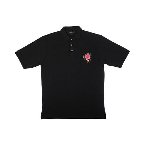Passport Desert Rose Polo Black - 50-50 Skate Shop