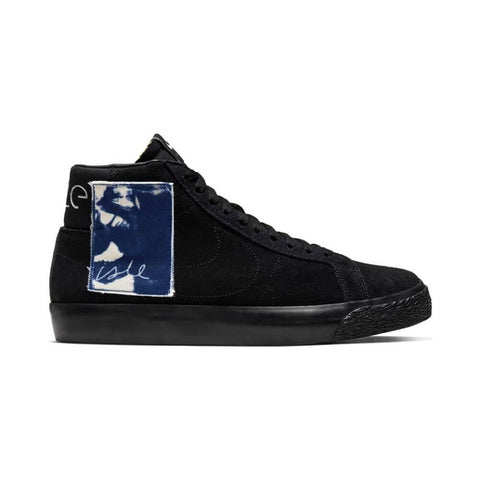 Nike SB Zoom Blazer Mid Quick Strike Black Black Sale Blue Void-50-50 Skate Shop