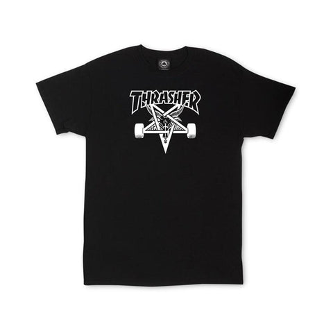 Thrasher Skategoat Tee Black-50-50 Skate Shop