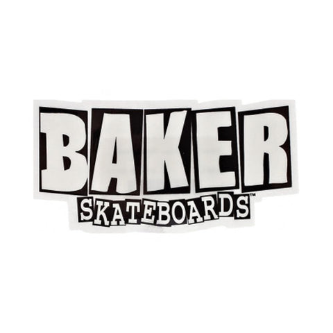 Baker Brand Logo Sticker Medium-50-50 Skate Shop
