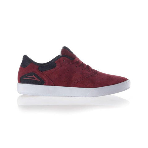 Lakai Guy SMU Burgundy Suede - 50-50 Skate Shop