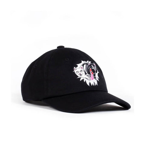 Ripndip Hat Nerm & Jerm Show Dad Hat Black-50-50 Skate Shop