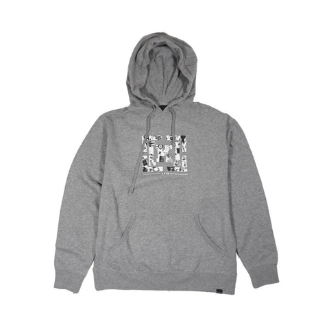 Krew Bracket Grey Heather-50-50 Skate Shop