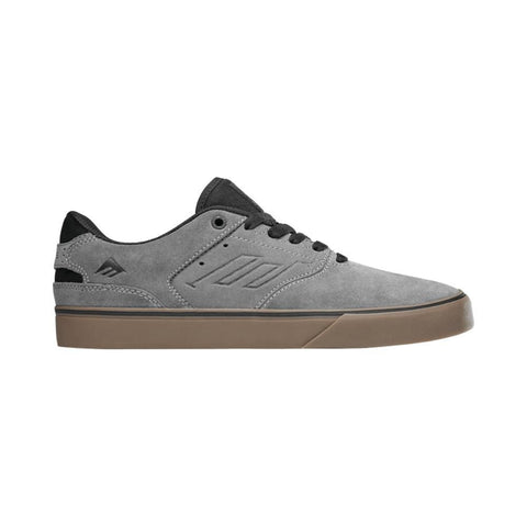 Emerica The Reynolds Low Vulc Grey Black Gum-50-50 Skate Shop