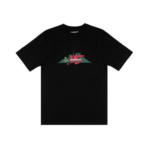 Yardsale Snake Eater Tee Black-50-50 Skate Shop