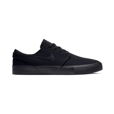 Nike SB Zoom Stefan Janoski Canvas Remastered Black Black-50-50 Skate Shop