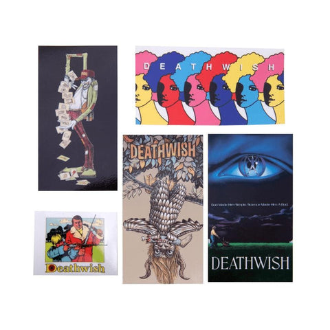 Deathwish Stickers Deathspray SU19 Single Sticker - 50-50 Skate Shop