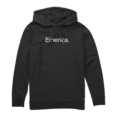 Emerica Small Pure Logo Hoodie Black - 50-50 Skate Shop