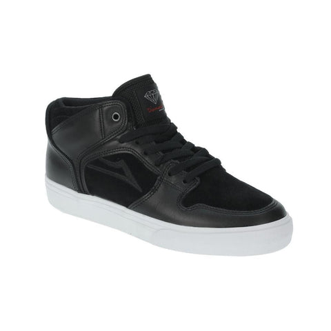 Lakai Telford Echelon Black Leather - 50-50 Skate Shop