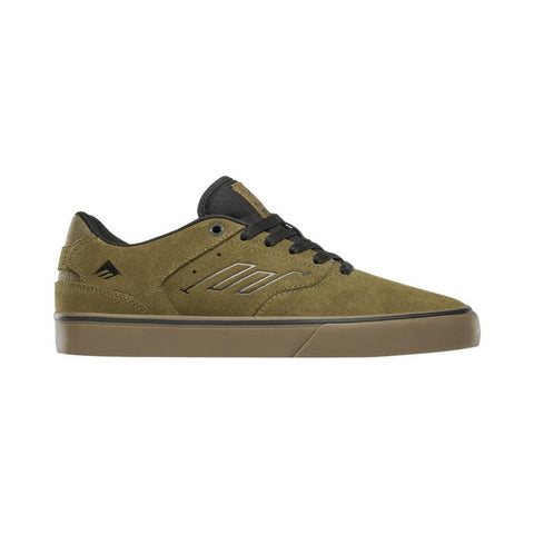 Emerica The Reynolds Low Vulc Olive Black Gum - 50-50 Skate Shop