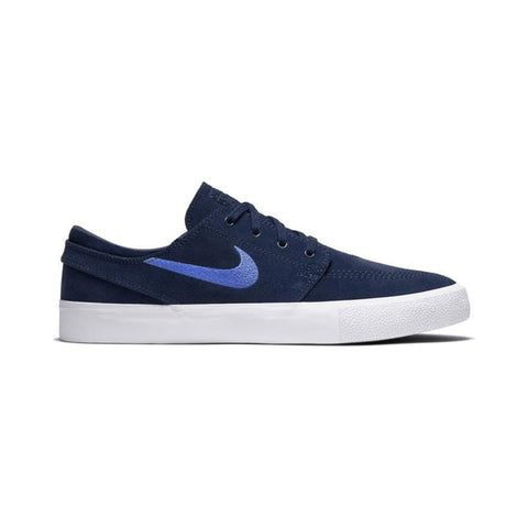 Nike SB Zoom Janoski Remastered Midnight Navy Pacific Blue White-50-50 Skate Shop