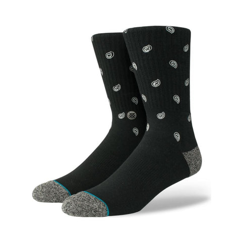 Stance Mens Emerge Socks Black-50-50 Skate Shop