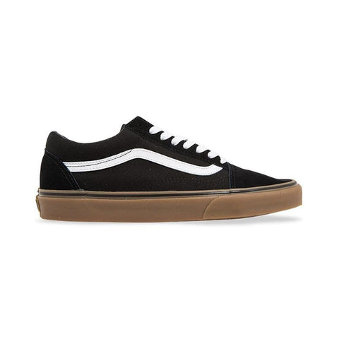 Vans Old Skool (Gumsole) Black Medium Gum - 50-50 Skate Shop