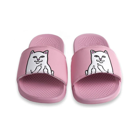 Ripndip Lord Nermal Slides Pink-50-50 Skate Shop