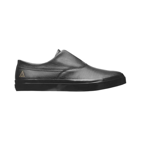 Huf Dylan Slip On Black Black-50-50 Skate Shop