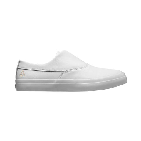 Huf Dylan Slip On White White-50-50 Skate Shop