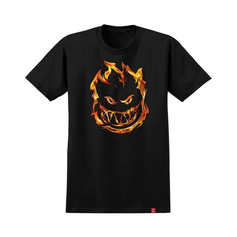 Spitfire Youth Tee 451 Black - 50-50 Skate Shop