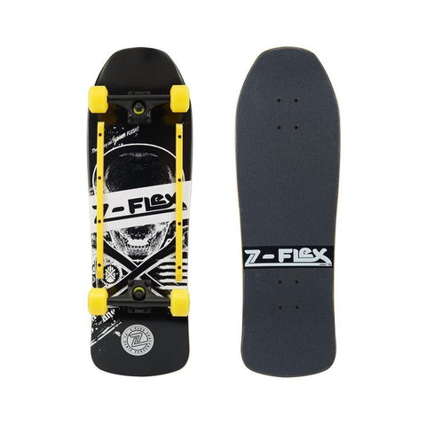 Z Flex Skateboard Cruiser Complete Z Bones Black-50-50 Skate Shop