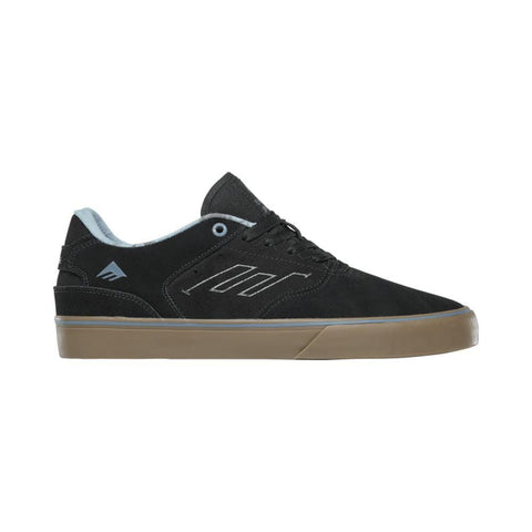 Emerica The Reynolds Low Vulc Black Gum Grey - 50-50 Skate Shop