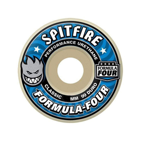 Spitfire Wheel F4 99D Classic 54mm-50-50 Skate Shop