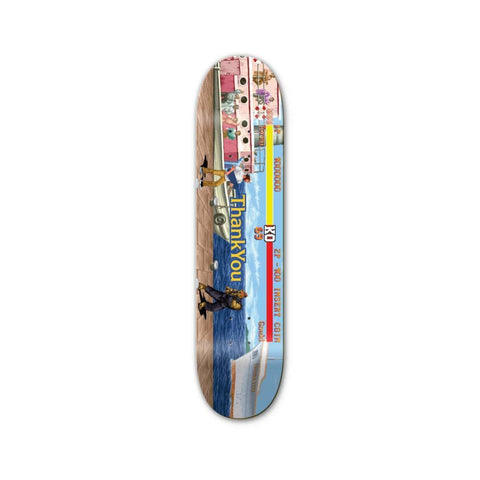 "Thank You Skateboard Deck Fighter TPUD 8.25"" x 31.75""-50-50 Skate Shop"