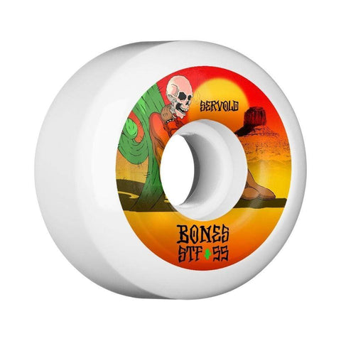 Bones Skateboard Wheels STF Servold Dry Heat V5 55mm - 50-50 Skate Shop