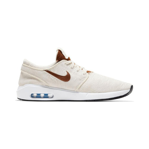 Nike SB Air Max Janoski 2 Pale Ivory LT British Tan White-50-50 Skate Shop