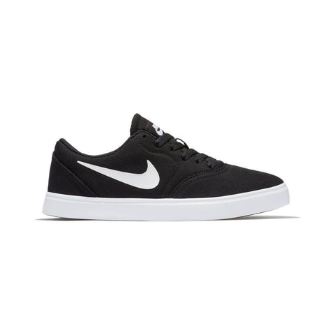 Nike SB Kids Check Canvas (GS) Black White_905373-003