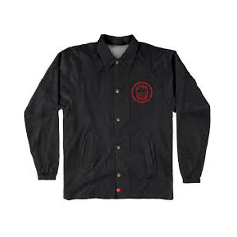 Spitfire Youth Jacket Classic Swirl Black Red-50-50 Skate Shop
