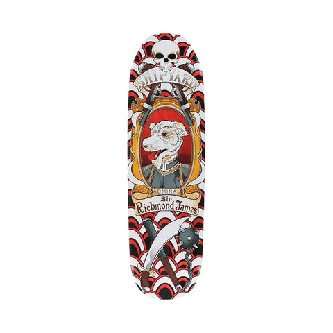 "Shipyard Skateboard Deck Pop The Admiral 8.5""-50-50 Skate Shop"