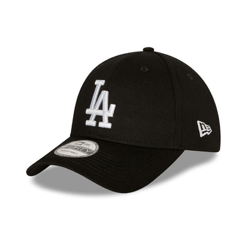 New Era 9FORTY Cloth Strap Los Angeles Dodgers Black/White