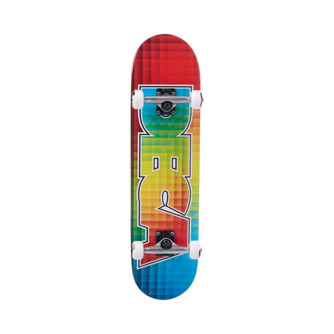 "Deca Skateboard Complete Colour Blocks 8.0"" Multi Coloured - 50-50 Skate Shop"