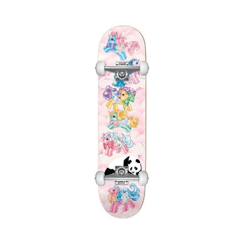 "Enjoi Skateboard Complete My First Pony Youth 7.25"" Mid Pink-50-50 Skate Shop"