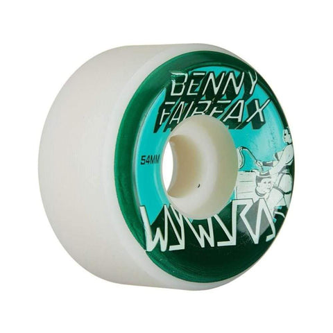 Wayward Skateboard Wheels Benny Fairfax Funnel Cut 54mm 101A-50-50 Skate Shop