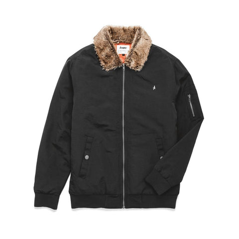 Altamont Elliot Ave Jacket Black-50-50 Skate Shop