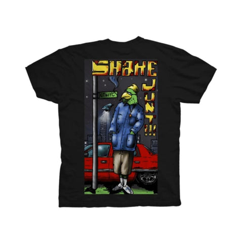 Shake Junt Tee Whats My Name Black-50-50 Skate Shop