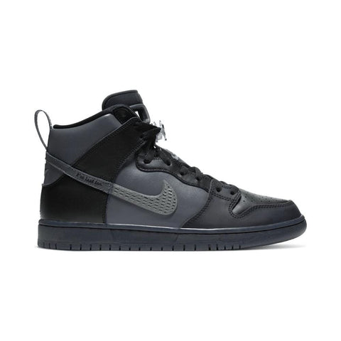 Nike SB Dunk High Pro Premium Quick Strike Black Dark Grey Black-50-50 Skate Shop